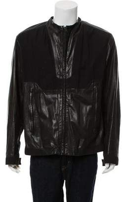 Helmut Lang Casual Leather Jacket