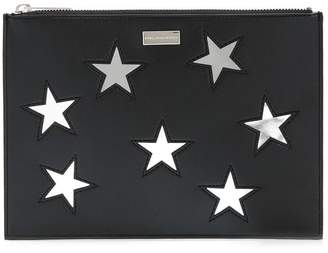 Stella McCartney embroidered Stars clutch bag