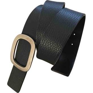 Malo Blue Leather Belts