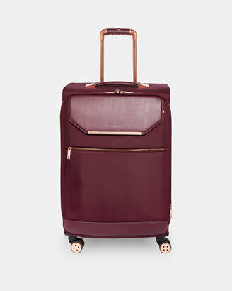 Ted Baker LUGGOL Metallic trim medium suitcase