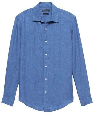 Banana Republic Standard-Fit Linen Shirt