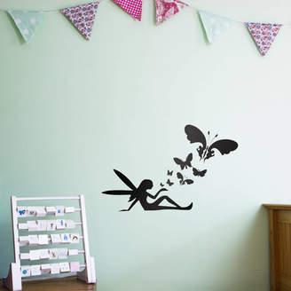 Vinyl Revolution Fairy Butterflies Wall Art Decal For Kids