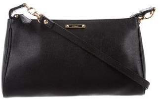 Fendi Leather Mini Crossbody Bag