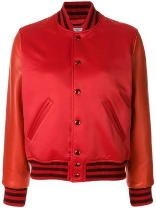 Givenchy fitted bomber jacket