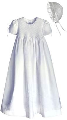 Isabel Garreton 'Pearls' Christening Gown & Bonnet