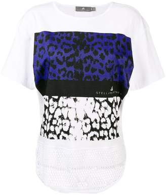 adidas by Stella McCartney leopard tee