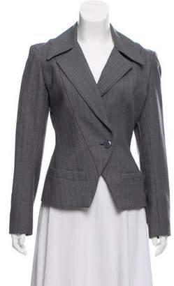 Alaia Striped Wool Blazer