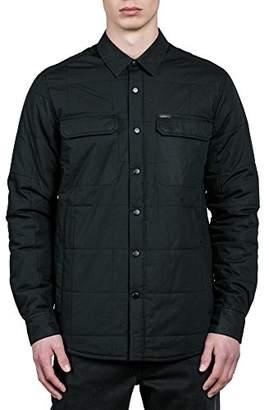 Volcom Men's Larkin Quilted Classic Fit Jacket