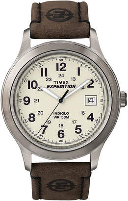 Timex Expedition Newness Mens Leather Strap Field Watch T49870