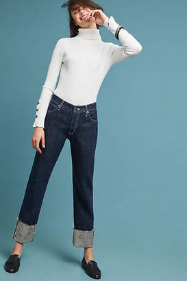 MiH Jeans Phoebe High-Rise Straight Jeans