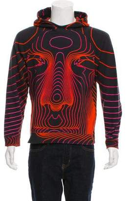 Christopher Kane Topographic Contour Line Hoodie