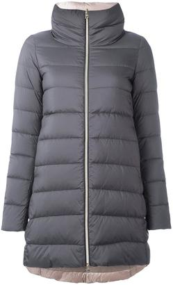 Herno zip up padded coat $765 thestylecure.com
