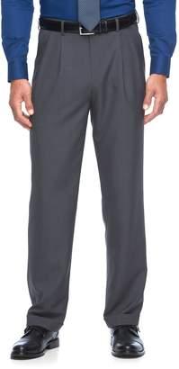 Croft & Barrow Men's True Comfort Classic-Fit Opticool Pleated Dress Pants