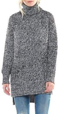 Dex Turtleneck High-Low Sweater
