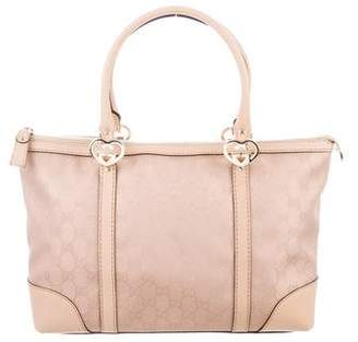 38ee4502020 Gucci Metallic GG Small Lovely Tote
