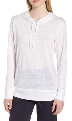 Nordstrom Signature Knit Linen Hoodie