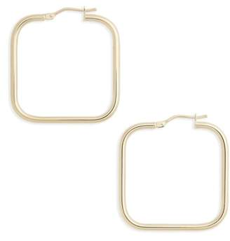 Bony Levy Square Hoop Earrings