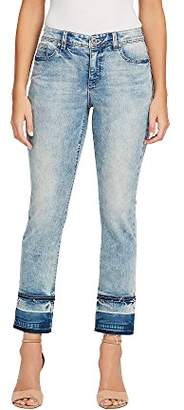 Bandolino Women's Millie Curvy Straight Leg Ankle Jean