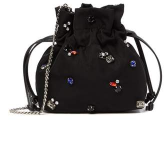 French Connection Heather Mini Embellished Crossbody Bag
