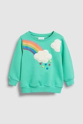 Next Girls Green Sweatshirt (3mths-6yrs)
