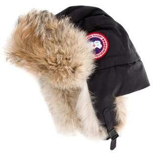 Canada Goose Fur-Trimmed Trapper Hat