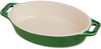 "Staub Ceramic 11"" Oval Baking Dish"
