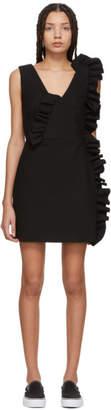 MSGM Black Ruffles Dress
