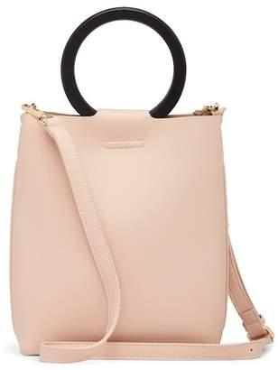 Street Level Ring Handles Shoulder Bag