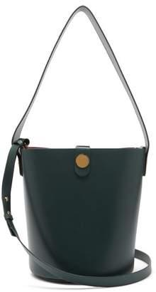 Sophie Hulme Swing Cross Body Bag - Womens - Dark Green