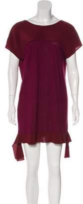 Miu Miu Short Sleeve Mini Dress Short Sleeve Mini Dress