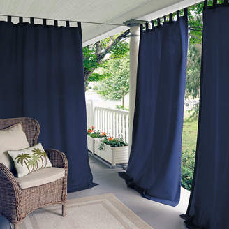 Matine Elrene Tab-Top Indoor/Outdoor Curtain Panel