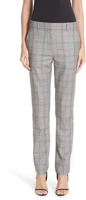 Calvin Klein Side Stripe Plaid Wool Pants
