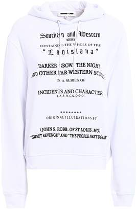McQ Louisiana Embroidery Cotton Hoodie