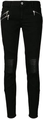 Just Cavalli slim biker jeans
