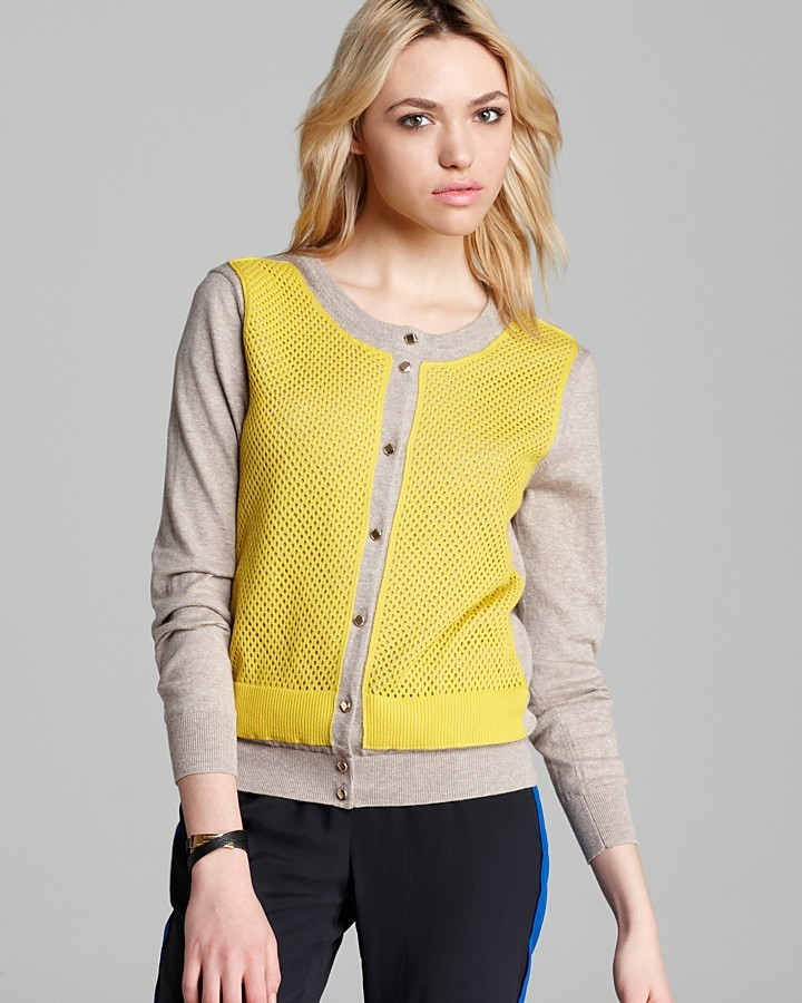 Marc by Marc Jacobs Cardigan Sweater - Angela Color Block