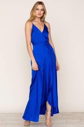 Yumi Kim Rush Hour Silk Maxi Dress