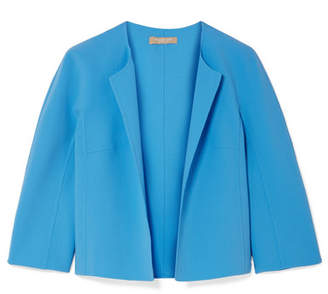 Michael Kors Stretch-wool Crepe Jacket - Light blue