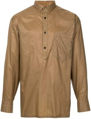 Kolor pull-over fitted shirt