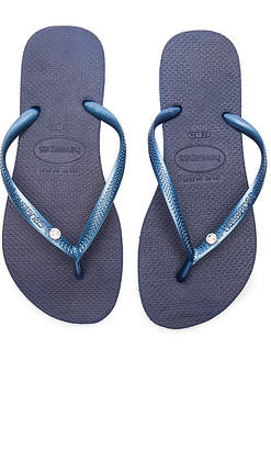 d02c5bef7 Havaianas Slim Crystal Glamour SW Sandal