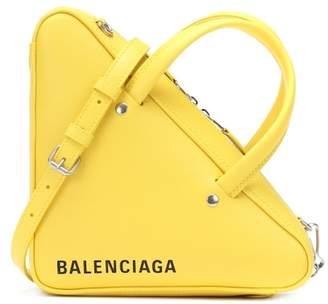 Balenciaga Triangle Duffle XS leather tote