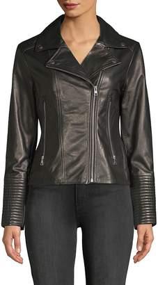 Soia & Kyo Women's Leather Moto Jacket