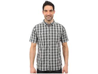 The North Face Short Sleeve Marled Gingham Shirt Men's Short Sleeve Button Up