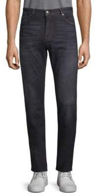 HUGO BOSS Five-Pocket Straight Leg Jeans
