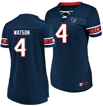 Majestic Women's DeShaun Watson Houston Texans Draft Him Shirt 2018