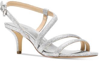 MICHAEL Michael Kors Irene Mid Strappy Dress Sandals $130 thestylecure.com