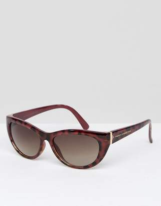 French Connection Slim Cat Eye Sunglasses