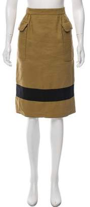Burberry Knee-Length Pencil Skirt