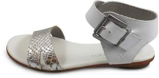 Emu Australia White Ankle Strap $120 thestylecure.com