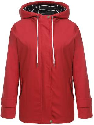 Zeagoo Womens Lightweight Hooded Zipper Jacket Sports Outwear Windbreaker