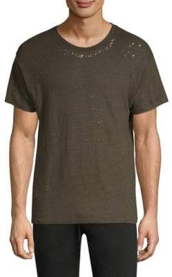 IRO Joup Distressed Linen Tee